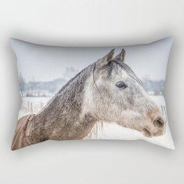 Portrait Amigo Rectangular Pillow