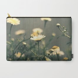 Dapper Vintage Daisies Carry-All Pouch