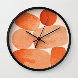 Abstraction_BALANCE_Minimalism_Art_001 Wall Clock