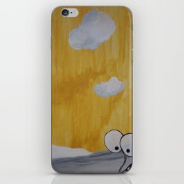 Plant with Yellow Sky iPhone Skin