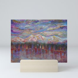 Changing Of The Season In The Rocky Mountains Mini Art Print