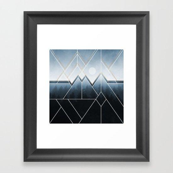 Fading North Framed Art Print