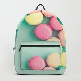 Macarons, macaroons heart, pop art Backpack