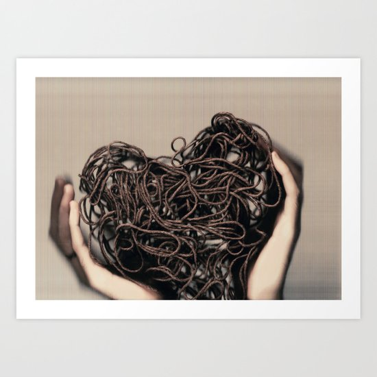 Another Way to Love ii Art Print