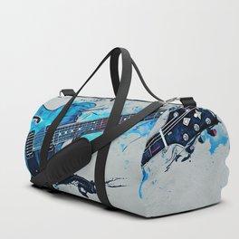 Blue Electric Guitar Duffle Bag
