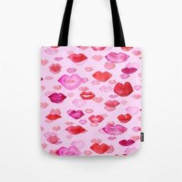Raining kisses Tote Bag