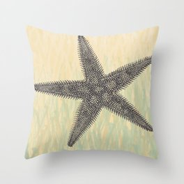 Starfish ~ The Summer Series Throw Pillow