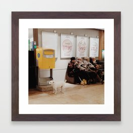 No. 6 Framed Art Print