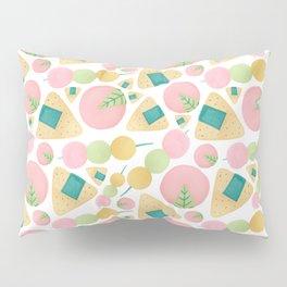 Japanese Snacks Pillow Sham