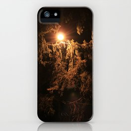 Night trees  iPhone Case