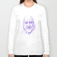fleetwood mac Long Sleeve T-shirts featuring Mick Fleetwood by Art by Kylie