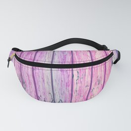Wooden Rainbow 03 Fanny Pack