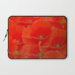 Red Poppies #decor #buyart #society6 Laptop Sleeve