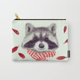 Indi raccoon Carry-All Pouch