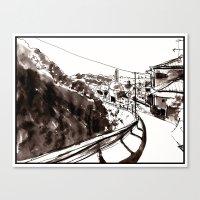 kobe Canvas Prints featuring Kobe by Jonas Ericson
