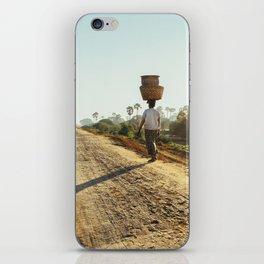 Burmese BasketWoman iPhone Skin