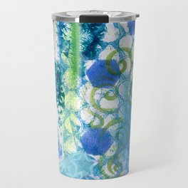 In amongst the blues and greens Travel Mug