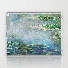 1906 Waterlilies oil on canvas. Claude Monet. Laptop & iPad Skin