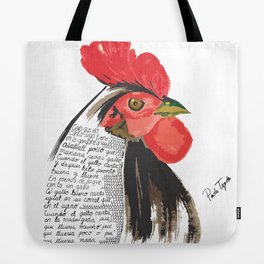 rooster art Tote Bag
