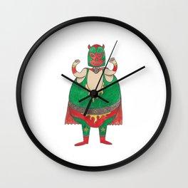 Orphée le Super Héros Wall Clock