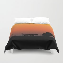 Ploughing the Field Duvet Cover