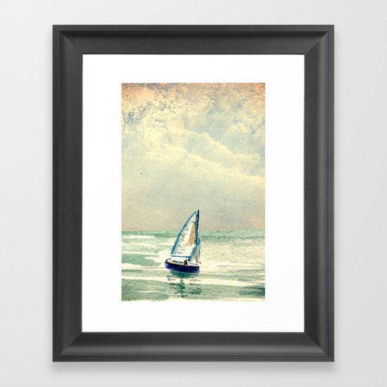 Seas Framed Art Print