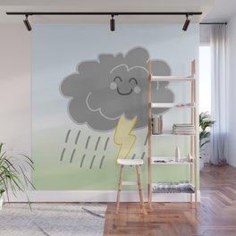 Floof Storm Cloud Wall Mural