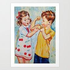 Childrens  Art Print