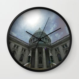 Wisconsin State Capitol (Madison, WI) Wall Clock