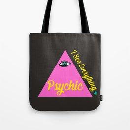 Psychic Eye Tote Bag