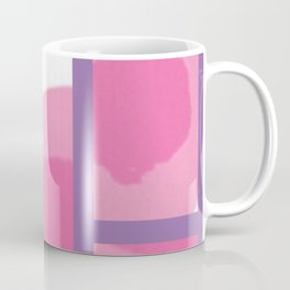 Expressive Windows of Purple Coffee Mug