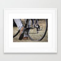 cycle Framed Art Prints featuring Cycle by Nicole Webb
