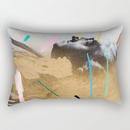 Composition 528 Rectangular Pillow