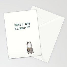 Optimisticat Stationery Cards