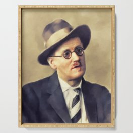 James Joyce, Literary Legend Serving Tray