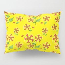 Doxie Flower - Dachshund Dog - Weiner Dog - Weenie Dog Pillow Sham