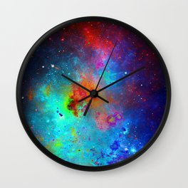 Everything is nothing 29 (therefore it was beautiful) Wall Clock