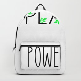 Powered By Plants Backpack