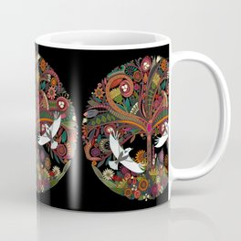 tree of life black Coffee Mug