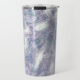 warped purple Travel Mug