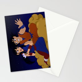On a Magic Cloud Ride Parody Stationery Cards