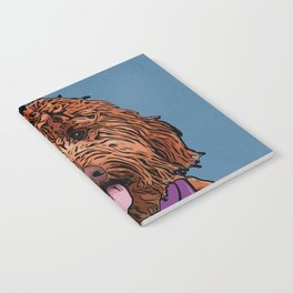 Icons of the Dog Park: Labradoodle Design in Bold Colors for Pet Lovers Notebook
