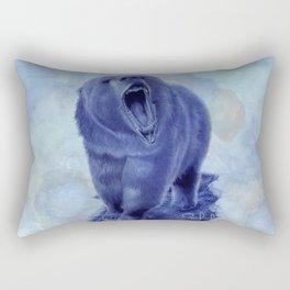 So bear your teeth Rectangular Pillow