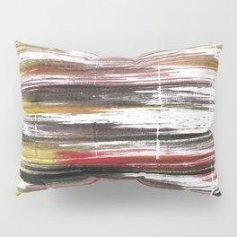 Raisin black abstract watercolor Pillow Sham