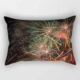 Colorful fireworks Rectangular Pillow