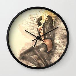Back Street X Wall Clock