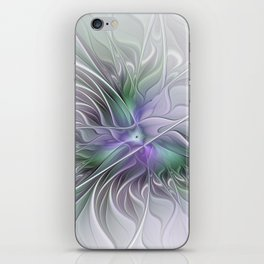 Abstract Floral Fractal Art iPhone Skin
