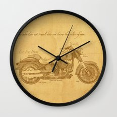 Travel Plan Wall Clock