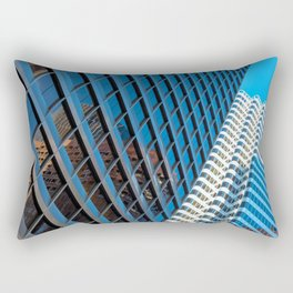 city structures Rectangular Pillow