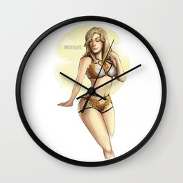 Mercy boudoir Wall Clock